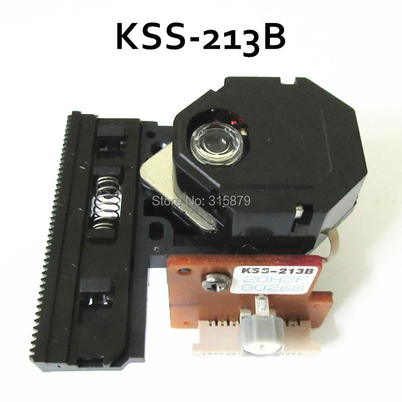 Original New KSS-213B for SONY CD Optical Laser Pickup KSS213B KSS 213B 2pcs lot kss 213c kss 213b kss 213cl kss 213 radio cd player laser lens optical pick ups bloc optique