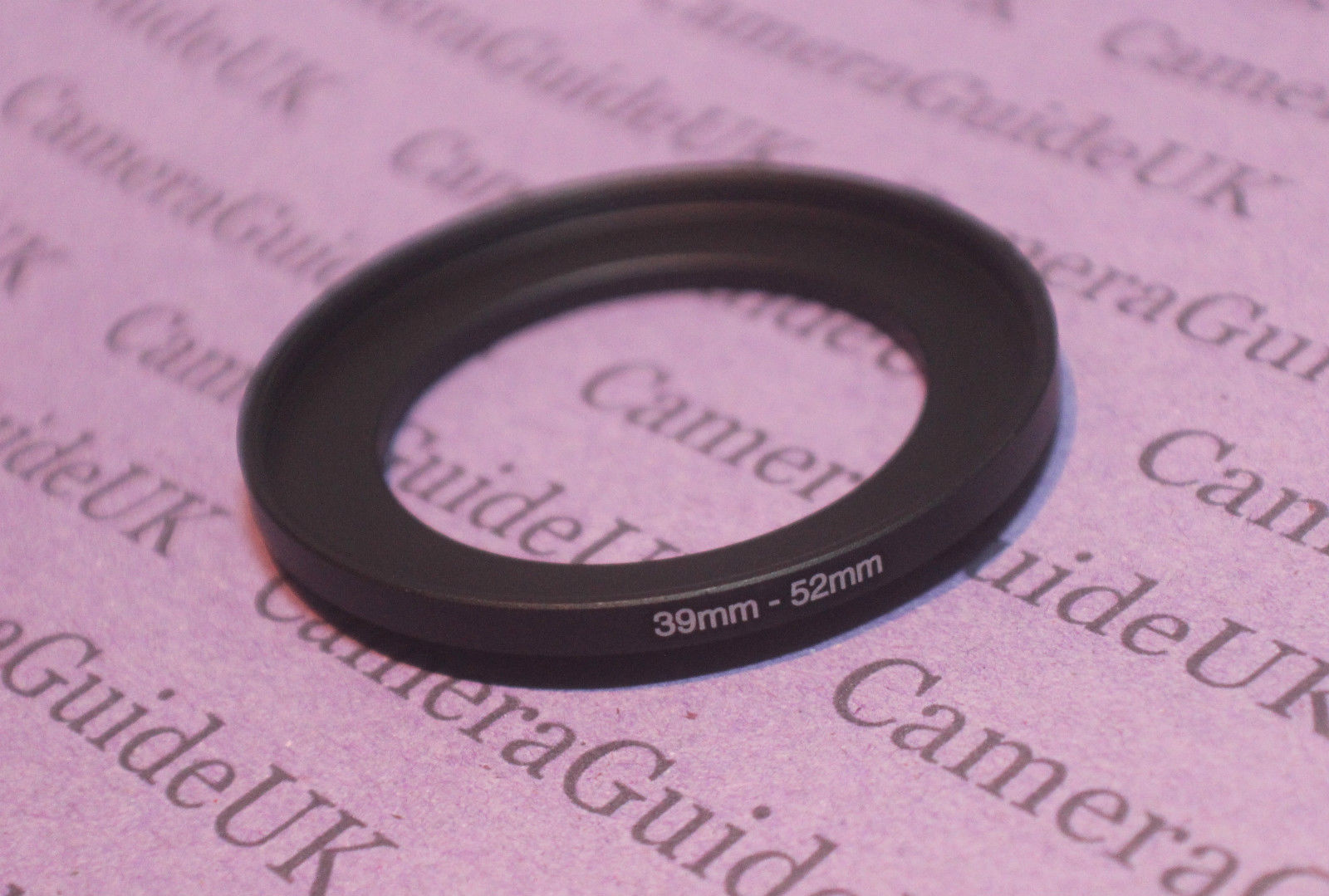 39mm-52mm 39-52 mm 39 to 52 Step Up lens Filter Ring Adapter