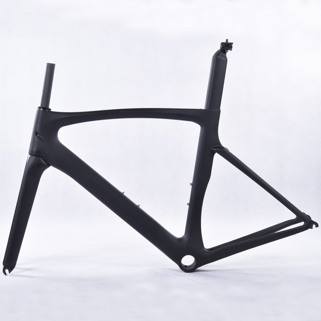 2017 T1000 fibra de carbono marco de bicicleta de carretera, UD mate ...