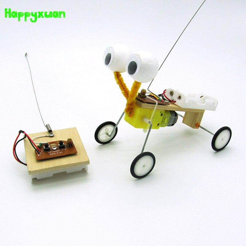 Izvedba eksperimentalnog eksperimenta Happyxuan Diy Telecontrol Robot - Izgradnja igračke - Foto 1