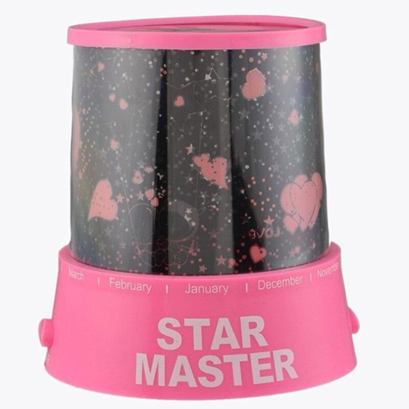 Звездные любители проекция Ночная розовый ...