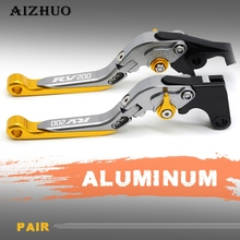 MOTORCYCLE ACCESSORIES CNC ALUMINUM ADJUSTABLE FOLDABLE LENGTHENING BRAKE CLUTCH LEVERS FOR SUZUKI RV200 RV 200