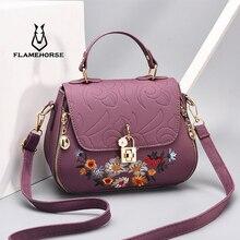 New Crossbody Bags For Women 2019 Handbag Shoulder Bag Female Leather Flap Cheap Women Messenger Bags Small Bolsa Feminina цена
