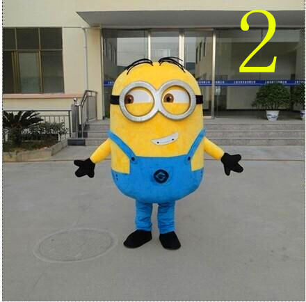 BING RUI CO  free shipping,15 styles, Despicable me minion mascot - Costumes
