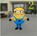 on sale! free shipping,15 styles, Despicable me minion mascot costume for adults despicable me mascot costume