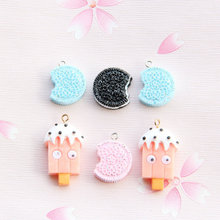 hair accessories Flat Back Resin Cabochon Kawaii Unicorn DIY Decoration Craft Embellishment Accessories 10ps/lot