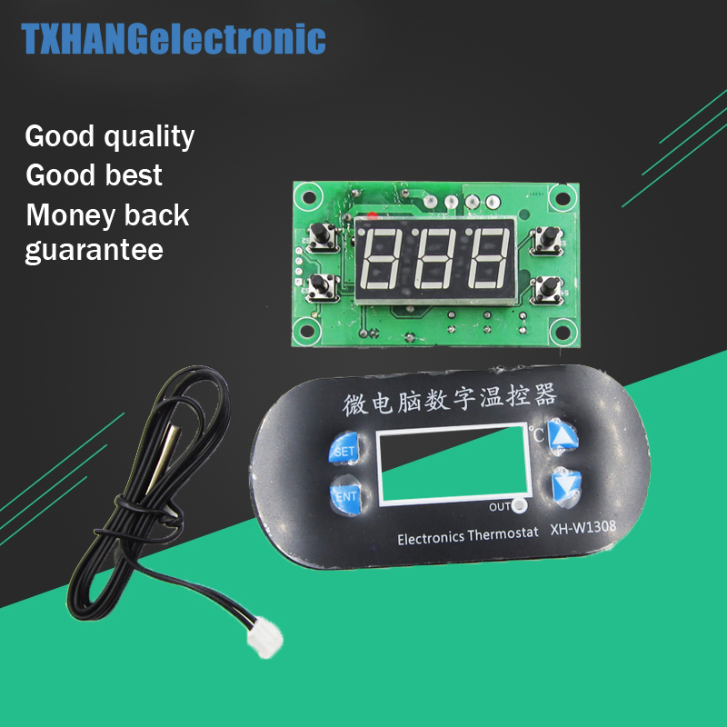 40℃~300℃ LCD Digital Temperature Controller Thermostat Switch Probe DC 12V