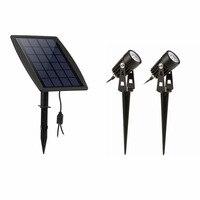 2018 New Waterproof Outdoor Garden LED Solar Light Super Brightness Garden Lawn Lamp Landscape Spot Lights