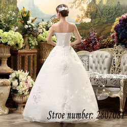 Free Shipping Vestidos De Novia Real Photo Sleeveless Sequins Bling Wedding Dress Cheap White Princess Bride Gowns XXN001 6
