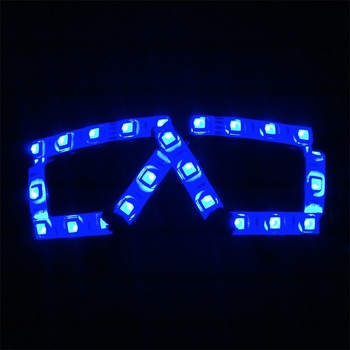 Wecool factory direct super bright led glasses free shipping led rave glasses glow in dark for Event and Party Supplies фото