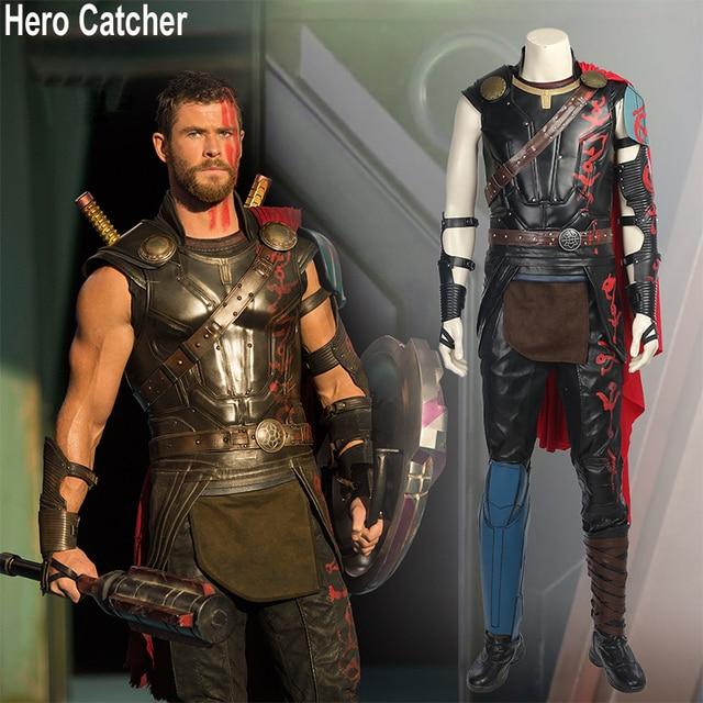 Hero Catcher 4 Top Quality Thor Ragnarok Cosplay Costume Thor 3 Outfit Thor Costume Custom Made  sc 1 st  AliExpress.com & Hero Catcher 4 Top Quality Thor Ragnarok Cosplay Costume Thor 3 ...