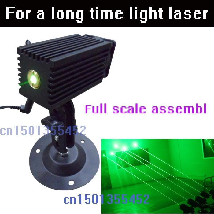 3 V punctate yeşil lazer modülü konumlandırma açık yeşil lazer lamba odası 532nm100MW gösteren lazer