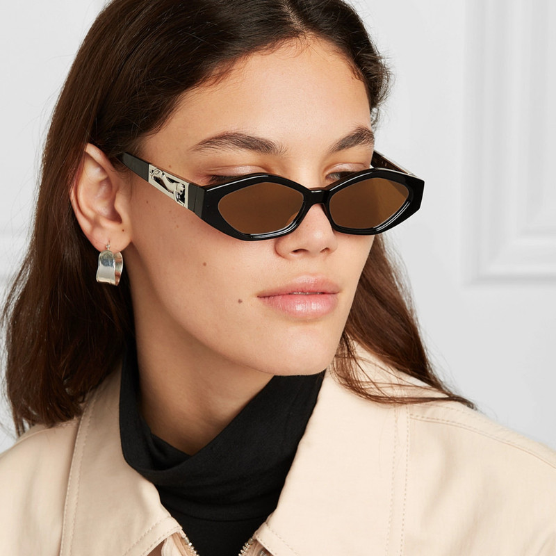 GUANGDU New Stylish Oval Sunglasses Women Male Vintage Retro Small Frame Female Ladies Sun Glasses Oculos De Sol Mujer UV400