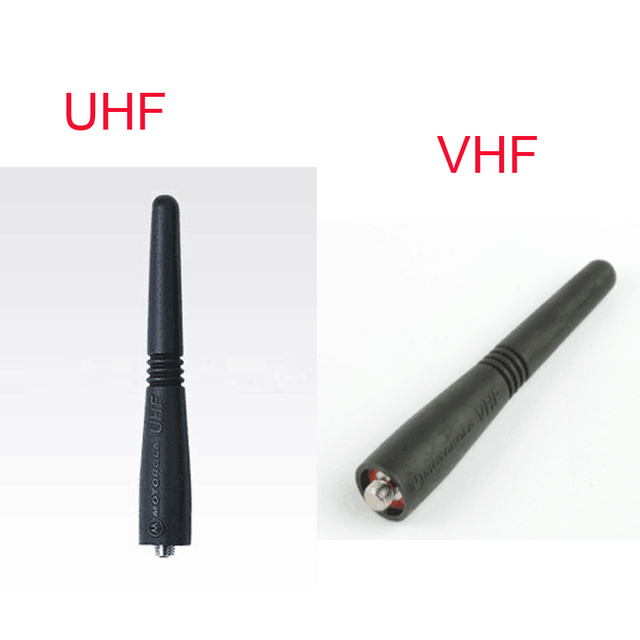 UHF And VHF Antenna For HT1250  PMAD4012 and PMAE4003