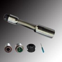 23 мм нержавеющая сталь промышленный трубопровод эндоскоп Инспекционная камера головка с 12 шт. белый светодиодный свет подходит TP9000 TP9200 TP9300