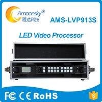 Электронные знаки литья под светодио дный давлением алюминиевый шкаф LED тв процессор LVP913S светодио дный с кейс для управления программным о