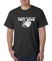 Aile T ShirtsMen O-Boyun Gerçek Kahramanlar Etmeyİn Pelerinler Onlar Giymek Giymek köpek Etiketler Askeri Abd T-Shirt S Sz 3XL Kısa Kollu