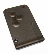 Replacement fits For Renault Megane Scenic 3 button Key Card Shell Case Blank Blade