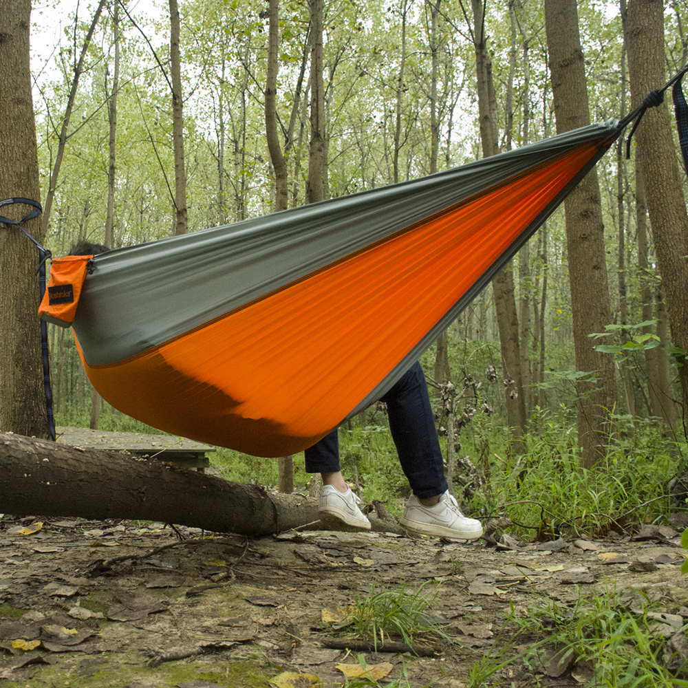 Outdoor Camping Hammocks Ultralight Sturdy Travel Hanging Hamac Double Person Leisure Furniture Travel Parachute Hammock