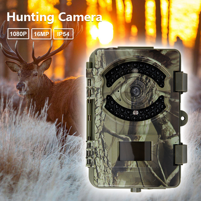 Night Infrared Hunting Camera D3 Big Eye 16MP HD 1080P Outdoor Scouting Hunting Trail Game Video Camera Wild Life Animal Hunting