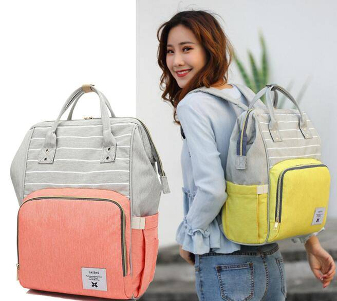 Baby Diaper Bags Nappy Care Maternity Handbags Traveling Backpack For Mom Brand Tote Baby Travel Bebo Organizer Waterproof Bags