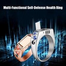 Titanium Steel Ring Invisible Knife Anti-Wolf Artifact Self Defense Broken Window Cutting Rope Stealth Weapon Diamond Guard Ring(China)