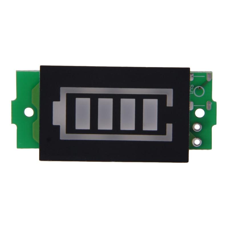 Одиночный 3,7 В индикатор емкости литиевой батареи Модуль 4,2 В синий дисплей тестер