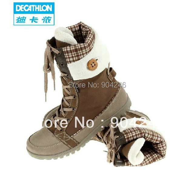 b22a4e1dafb US $149.8 |Freeshipping DECATHLON Ladies Outdoor / winter snow boots / snow  shoes / warm shoes QUECHUA-in Ankle Boots from Shoes on Aliexpress.com | ...