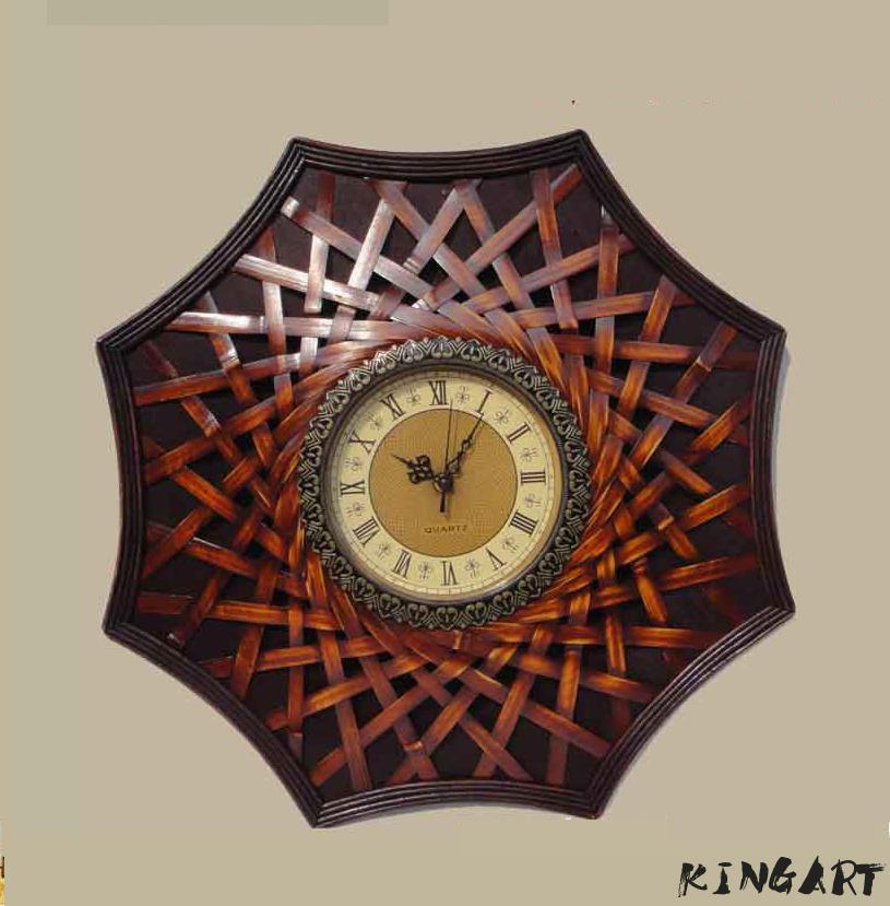 20Big Antique Wall Clock Creative Wooden Wall Clock Simple Design Retro Vintage Clocks Decorative Timer Wood Watch Home Decor