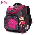 Рюкзак для девочек и мальчиков delune  детский ортопедический рюкзак с цветочным узором  7 лет