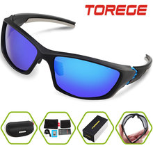 TOREGE Oculos Ciclismo Outdoor anti-UV400 Glasses Eyewear Gafas Ciclismo Bicycle Sports Cycling Sunglasses Men Women TR006