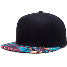 555be47222a81 Fashion Women Men Printing Pattern Baseball Cap Unisex Popular Hip-hop Flat Hat  Male Female · 3 Colors Available