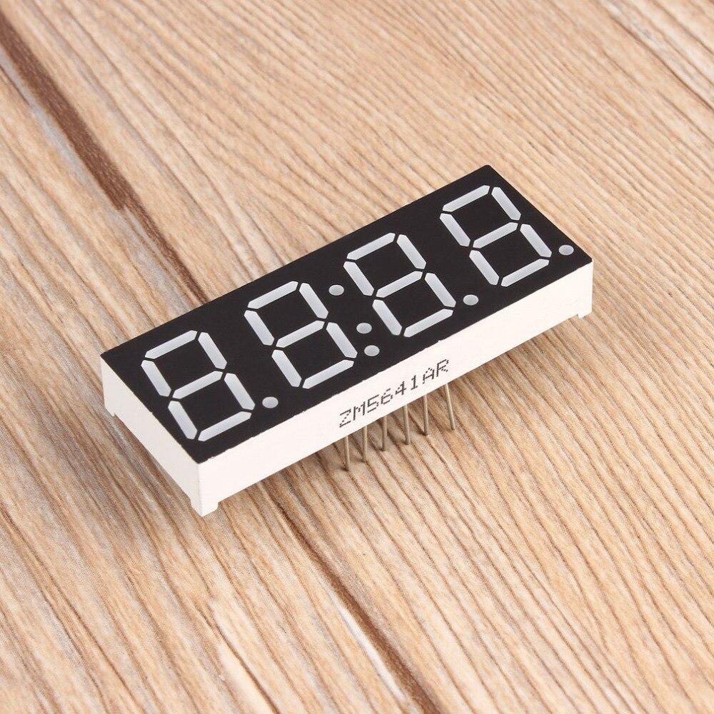 038b8be770a9 2018 nuevo saat reloj 1 pc C51table reloj 4 Bits Digital electrónica  digital reloj electrónico klok producción Suite DIY kits