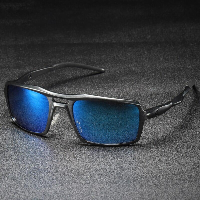 2019 New Sport Sunglasses Men Polarized Sun Glasses Oversized Goggle Sunglasses Aluminium Magnesium Alloy Eyewear Polaroid Lens 1