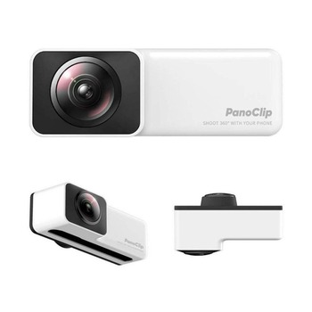 PanoClip 360 degrees Capturing Dual Camera for Apple iPhoneX, iPhone7P8P, iPhone78  Full View Panoramic 360 Camera Lens 360 degrees