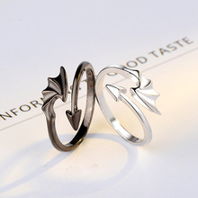 Tik Tok Trendy Ring Sets Gift for Boyfriend and Girlfriend Solid 925 Sterling Silver Jewelry Stylish Design Plain Silver Rings цены онлайн