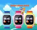 Kidizoom gps smart watch relógio de pulso chamada sos localizador localizador Monitor Do Bebê Seguro Anti Perdido dispositivo Rastreador para o Miúdo Presente Q90