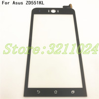オリジナルフロントガラスタッチスクリーンセンサー Asus Zenfone 5 Selfie ZD551KL Z00UD 551kl タッチスクリーンデジタイザパネル 携帯電話タッチパネル    -