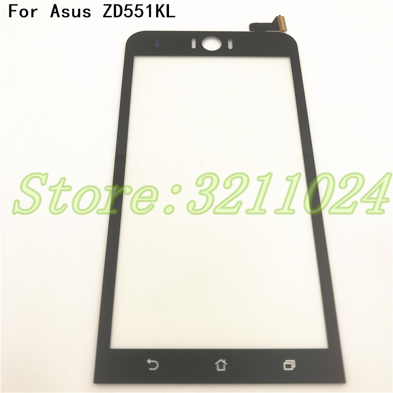 Original Front Glass TouchScreen Sensor Replacement For Asus Zenfone Selfie ZD551KL Z00UD 551kl Touch Screen Digitizer Panel