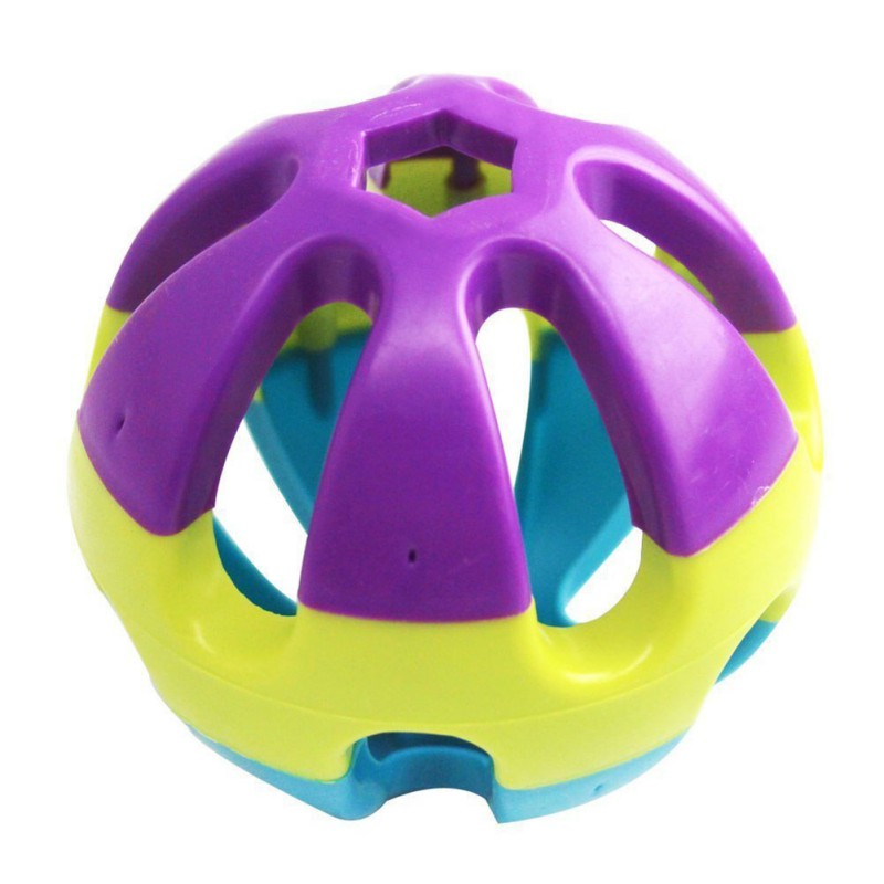 Parrot Bells Ball Toy Pet Bird Supplies Kickng Chewing Toys Multicolor Cockatiel Small Pet Favorite Chase Game Toy