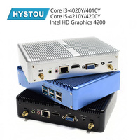 2019 New HYSTOU Fanless Mini PC Windows 10 Intel NUC Core i3 4010Y i7 5550U 5600U Micro Desktop Computer X86 Nettop
