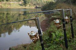 Автоматическая Удочка из нержавеющей стали для морской, речной, озерной рыбалки, высокое качество, 1,8 м, 2,1 м, 2,4 м, 2,7 м, удочка для рыбалки на о...