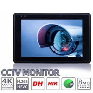 "Image 2 - 8MP 手首 4.0 IP カメラ CCTV テスターモニター 4 ""同軸 HD 4 18K H.265 wifi ホットスポット PTZ 制御ケーブル CVI TVI AHD CVBS カメラテスター"