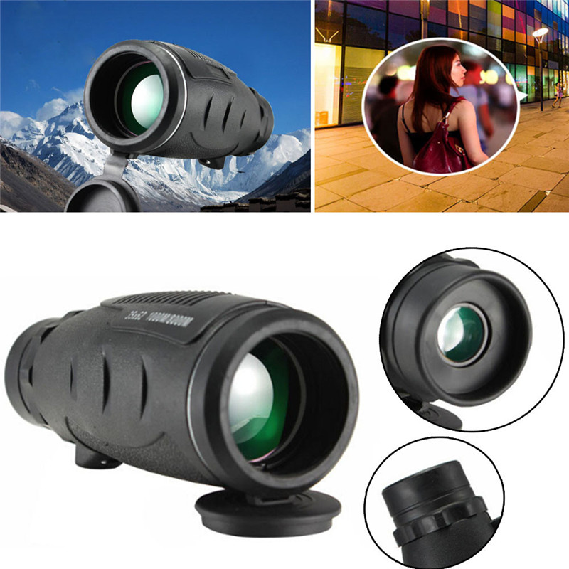 Ultra  High Power 35X62 Portable HD Night Vision WaterProof Monocular Safety & Survival Z0724