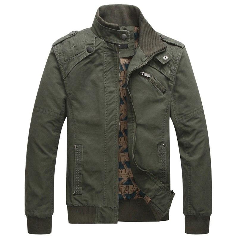 Мужская куртка бомбер, мужская куртка в стиле милитари на осень и зиму, 2019Куртки
