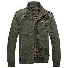 Mens bomber jackets male autumn winter military jacket men clothing 2019 windbreaker pilot winter jacket men TA736 S
