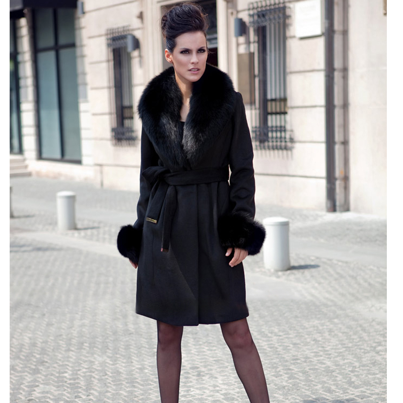 Mince black Veste Light Grey Parka Col Femme Vraie Vestes Fourrure Furclub Avec De Femmes Longue Photo as Nouvelle 2018 Parkas Tatyana D'hiver Manteau Mode OS7H1q