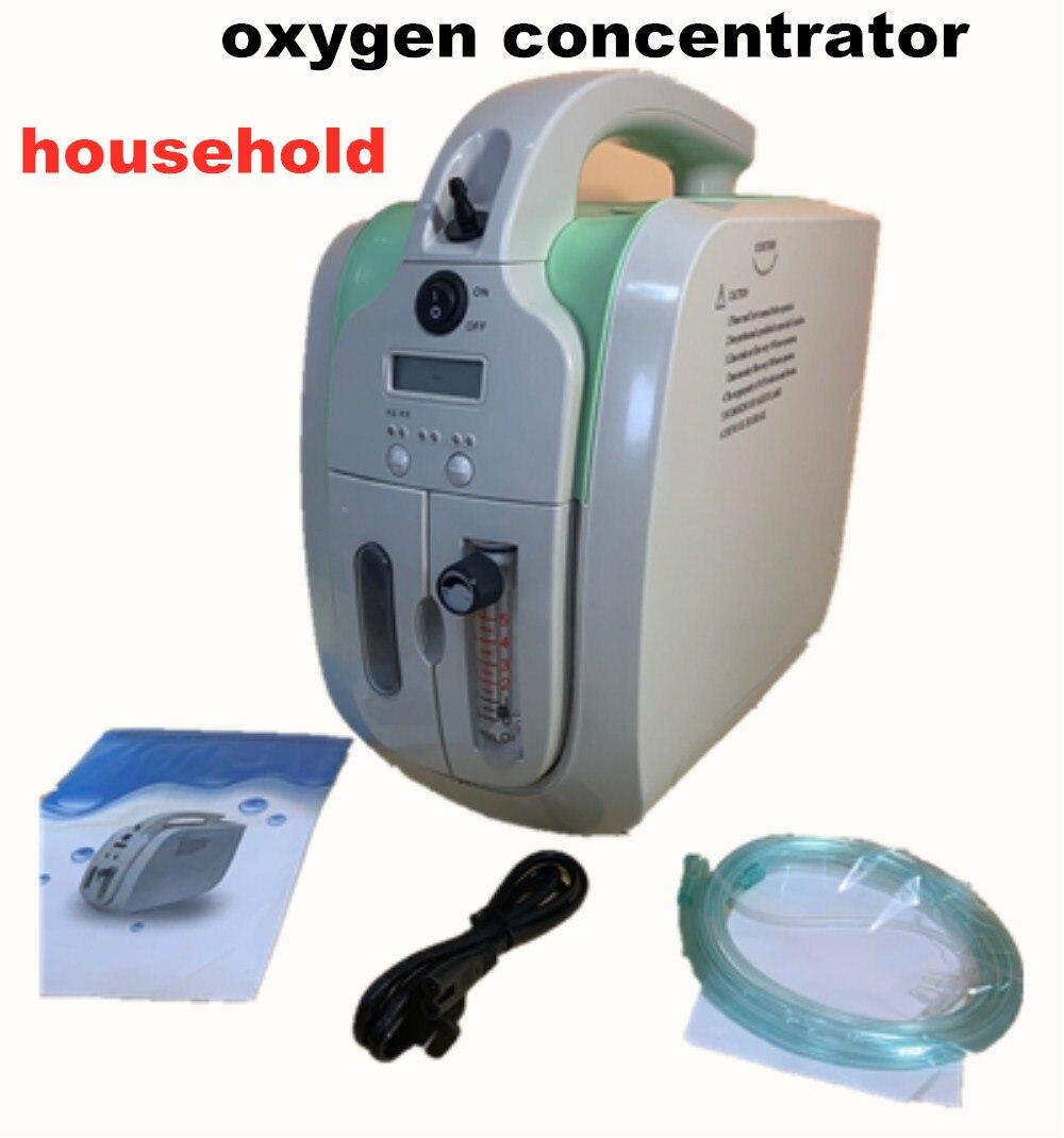 Домашнее использование 5 литров Ho использовать держать кислородный концентратор непрерывный кислородный бар очиститель воздуха с анионом