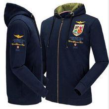 Air Force One Hochwertige Baumwolle herren Sweatshirts Erweiterte Stickerei Warme Hoodies Aeronautica Militare manner Marke Klei