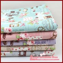 1pcs 155*50cm stripe series Retro patchwork baby cloth tartan ethnic fabric cotton crafts materials tilda textile